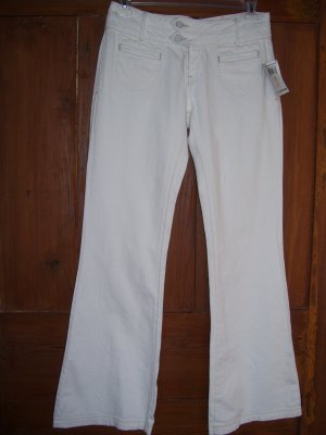Womens Pants Large New Lucky White Jeans Size 31 12 NWT  $129