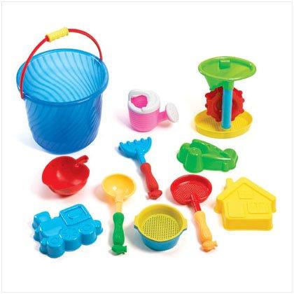 Beach Bucket Sand Toy Set