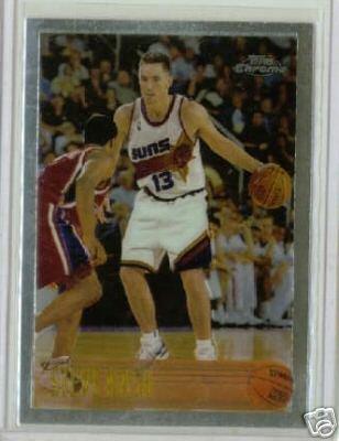 1996/1997 Steve Nash Topps Chrome RC Rookie Mint