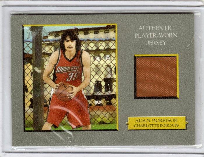 2005 2006 Adam Morrison Turkey Red Jersey RC Rookie