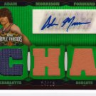 2006 2007 Adam Morrison Triple Threads Auto 4/18 2 Color Rookie RC