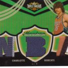 2006 2007 Adam Morrison Triple Threads Gold 1/9 6 Color Patch Rookie RC
