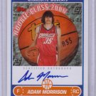 2006 2007 Adam Morrison Topps Rookie Photo Shoot Auto RC Rookie