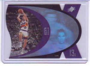1996 1997 Steve Nash SPX Premium Holographic Blue RC Rookie