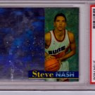 1996 1997 Steve Nash Stadium Club Hologram  PSA 9 RC Rookie #RS12
