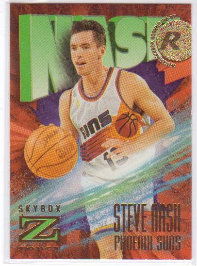 1996 1997 Steve Nash Z-Force #158  RC Rookie