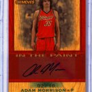 2007 208 Adam Morrison Trademark Moves Wood Auto 2/10