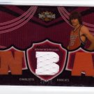 2006 2007 Adam Morrison Triple Threads Auto 29/36 # Red Patches Rookie RC