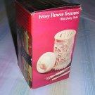 Boxed Plastic Replica of Ivory Flower Treasure Box