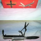 "Swiss Style 3.75 "" Long Knife with Multiple Functions"