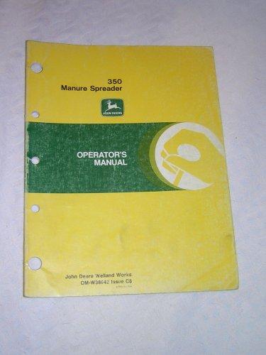 John Deere 350 Manure Spreader Operator�s Manual
