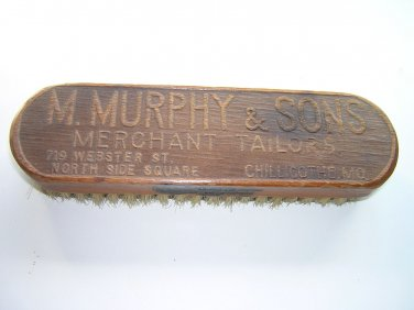 J.DUKAS & Co., New York Brush, Made in Germany, Imprinted M.MURRPHY & SONS