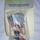 Archer Autosound Adapter Harness, Realistic To 1986 FORD Cars, In Package