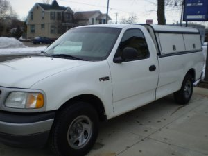 1999 FORD F150 WORK TRUCK
