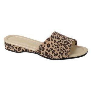 Daniel Green Cheetah Slipper Slides-Size 6.5