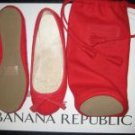 Banana Republic Cashmere Slipper Red-Size 5