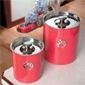 Pet Food Storage Canister Set