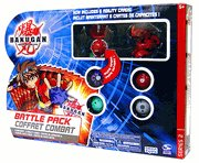 Bakugan Battle Brawlers Game Series 2 Battle Pack 6 Random Bakugan Figures & 12 Random Cards