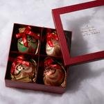 Waterford Holiday Heirlooms Christmas  Ornaments, Set of 4