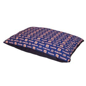 Pet Goods Collegiate Pillow Pet Bed-Auburn- 36 by 42-inch
