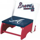 Atlanta Braves MLB Wooden Flip-Up Step-Up