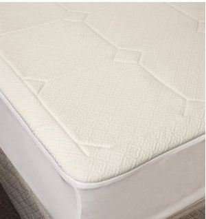 Rio 1/2-inch Washable Memory Foam Mattress Pad - Calking