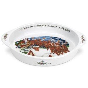 Portmeirion A Christmas Story Oval Dressing Pan