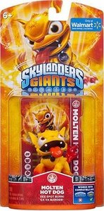 Skylanders Giants Molten Hot Dog (Set of Two)Walmart Exclusive Retired