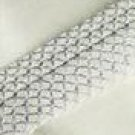 Vera Wang COTTON Sheet Set - Embroiderd Cuff IVORY-King