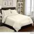 Veratex 6 Piece Duvet Set Color: Ivory, Size: King
