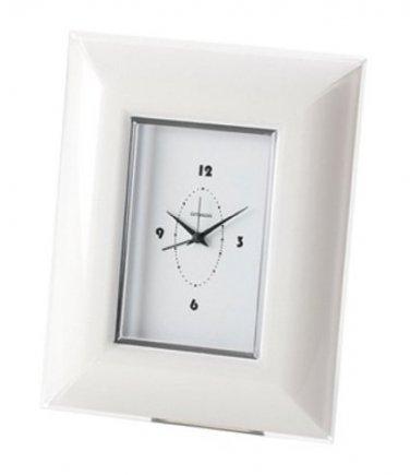 KDG International Omada Glamour Alarm Clock White