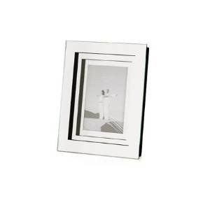 Torre & Tagus 1723-100001 Optic 3-Layer Mirror Frame, 4 by 6-Inch