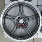 "17"" Gunmetal ADR Battle Exe Rims and Nexen N3000 Tires 5 Lug 48 Offset"