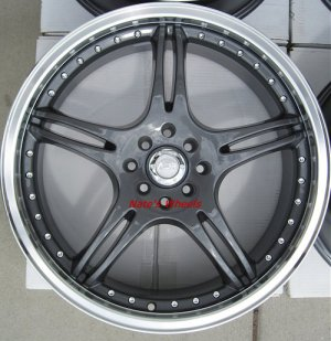 "17"" Gunmetal ADR Battle Exe Rims and Nexen N3000 Tires 4 Lug"
