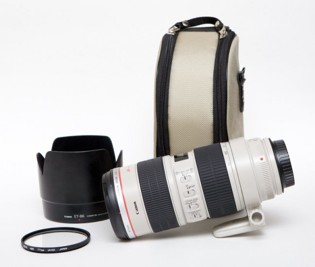 Canon 70-200 f/2.8L IS