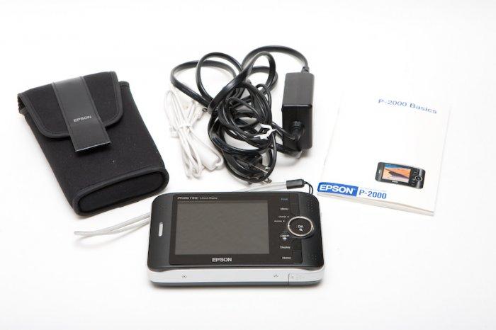 Epson P-2000 40GB Storage Unit