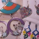 20 Pair Earrings ~ Cats ~ Enamel ~ 1980's +