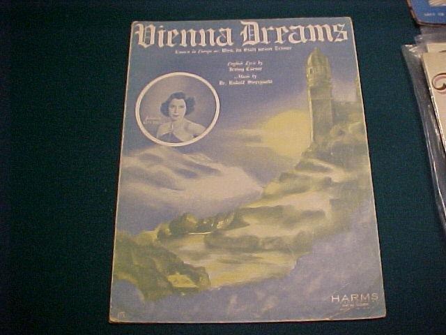 3 Pieces Sheet Music Lot 1919 1937 Kitty Carlisle Deanna Durbin