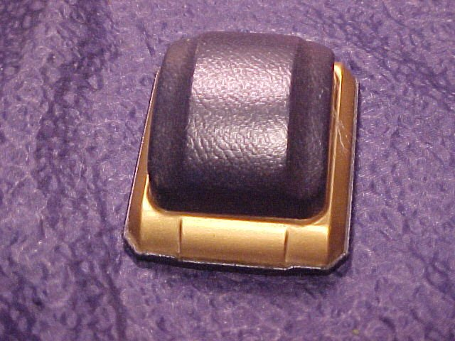 Blue Velvet Lined Antique Ring Box