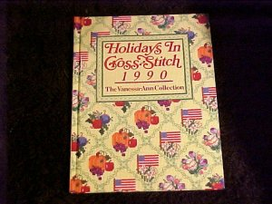 3 Hard Cover Gloss Christmas & Holiday Cross Stitch Design Books