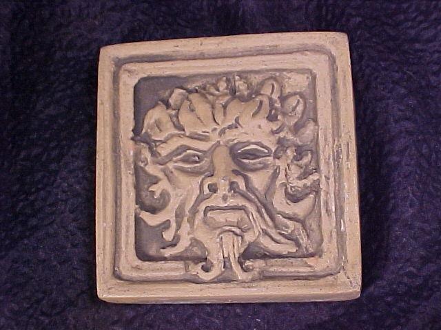 Gargoyle Garden or Wall Tiles ~ Set of 3