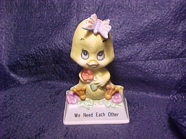 1979 Russ Berrie Porcelain Chick Figurine