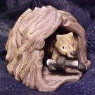 Woodland Surprises Beaver 2 Piece Porcelain