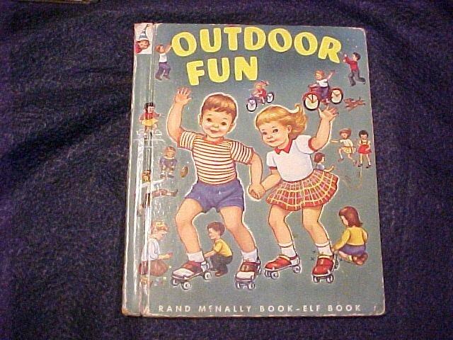 1953 Outdoor Fun Tip Top Elf Children's Book