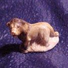 Wade England Rose Tea Figurine Whimsey 2 Tone Lion