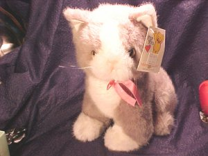Mary Meyer Vermont PLUSH GRAY KITTEN Cat