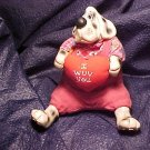 ~ Kathleen Kelly Collectible Valentine Dog ~ Retired