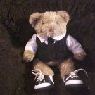 "Groom Suit & Tie 15"" Plush Bear"