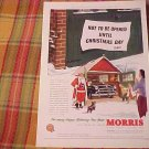 1955 Morris Motors Car Advertisement