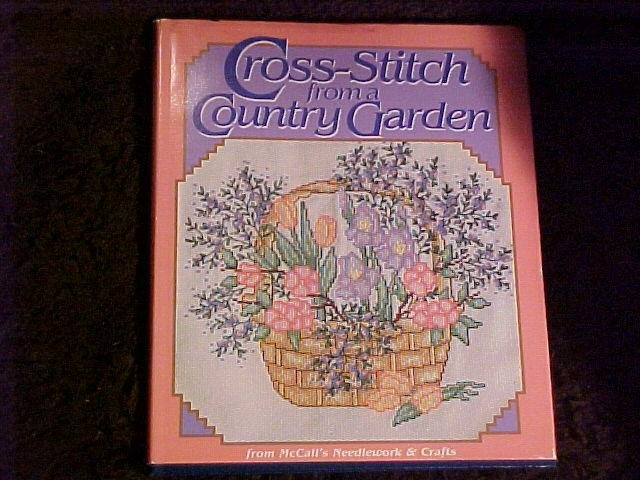 Cross Stitch Pattern Book From A Country Garden